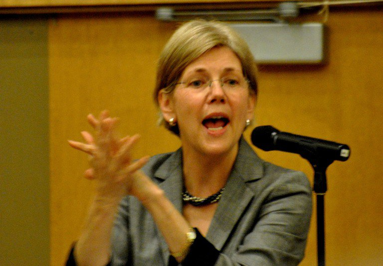 'Spec Assistant to the President, Elizabeth Warren' found at https://flic.kr/p/9JMPA2 by mdfriendofhillary (https://flickr.com/people/mdfriendofhillary) used under Creative Commons Attribution-ShareAlike License (http://creativecommons.org/licenses/by-sa/2.0/)