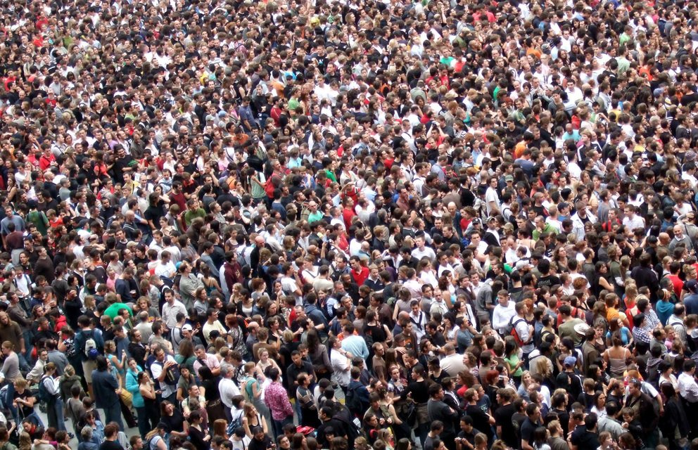 'Crowd' found at https://flic.kr/p/Wd54U by James Cridland (https://flickr.com/people/jamescridland) used under Creative Commons Attribution License (http://creativecommons.org/licenses/by/2.0/)
