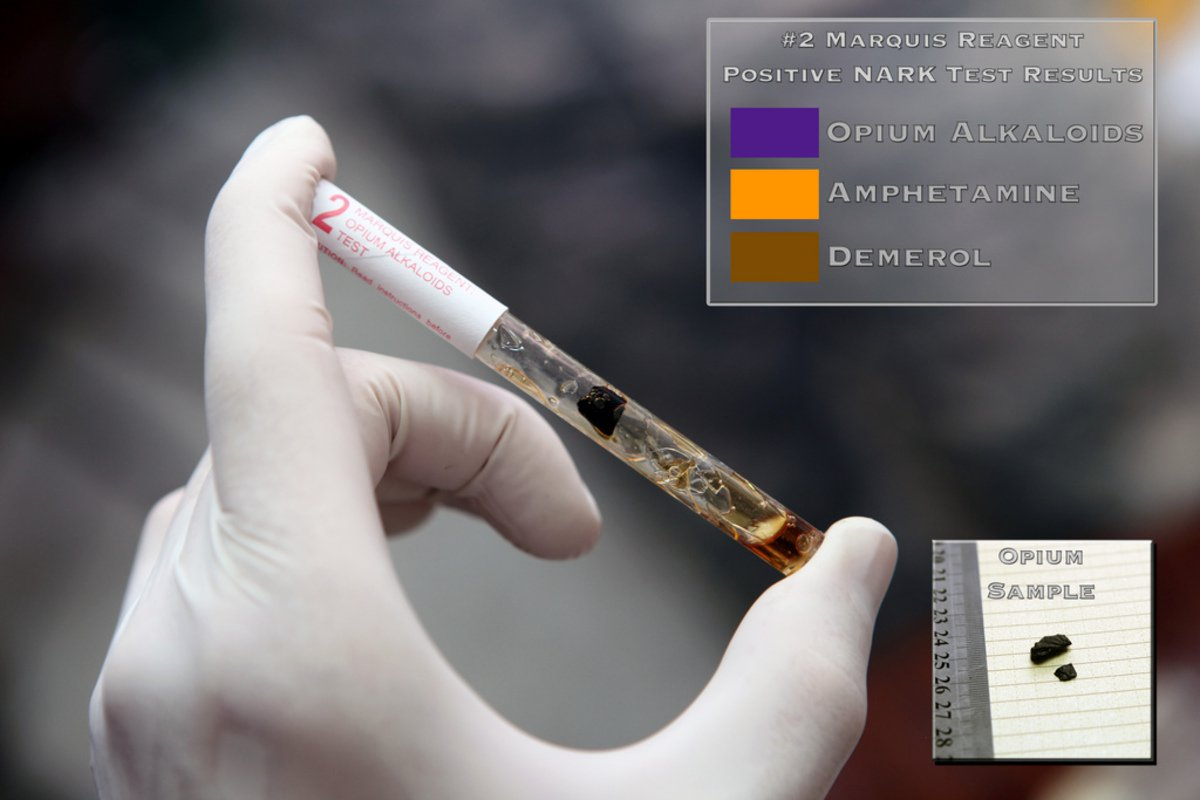 'Opium Presumptive Drug Test' found at  by  () used under  ()