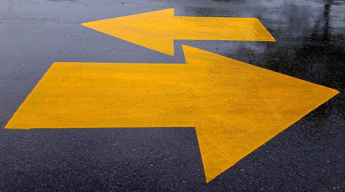 'arrows' found at https://flic.kr/p/qtyGZf by Dean Hochman (https://flickr.com/people/deanhochman) used under Creative Commons Attribution License (http://creativecommons.org/licenses/by/2.0/)