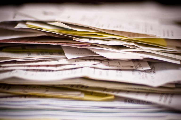 'Paperwork' found at https://flic.kr/p/4oWb4H by kozumel (https://flickr.com/people/kozumel) used under Creative Commons Attribution-NoDerivs License (http://creativecommons.org/licenses/by-nd/2.0/)